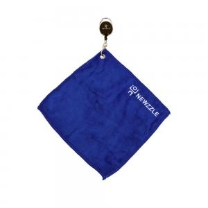뉴즐 와이어 골프 타월 중 22x22cm 블루