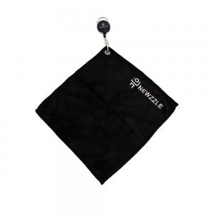 뉴즐 와이어 골프 타월 중 22x22cm 블랙