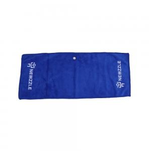 뉴즐 와이어 골프 타월 대 52x22cm 블루